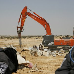 Israel Demolishes EU-Funded Shelters in E. Beit al-Muqaddas