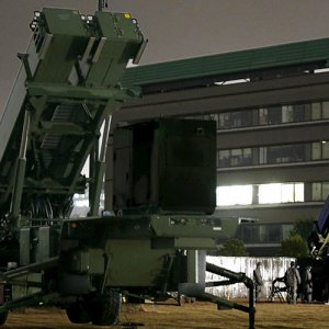 Japan Sets Up Anti-Air Missiles