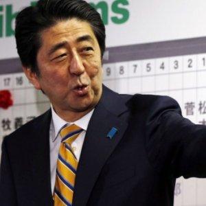 Abe Pledges to Rewrite Pacifist Constitution