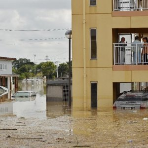 Japan Resumes Search for 16  Missing After Flood