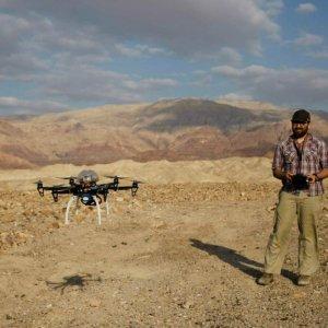 Drone Offers Glimpse of Antiquities Looting in Jordan