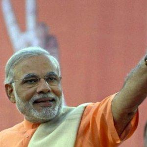 Modi Campaigns  in Indian Kashmir