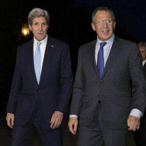 Kerry, Lavrov meet in Rome