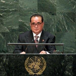 N. Korea Calls for Peace Treaty
