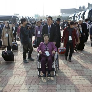 S. Koreans in North for Family Reunions