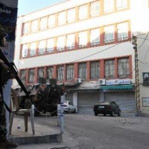 Lebanon Army, Militants Clash