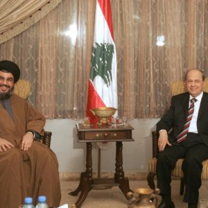 Hezbollah Leader Committed to Aoun