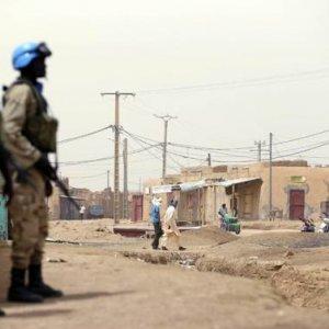 UN Mali Base  Under Attack