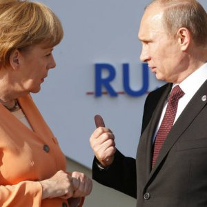 Merkel Calls for Russia Cooperation