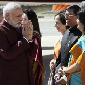 Lawsuit Makes for Awkward Start to Modi's US Visit