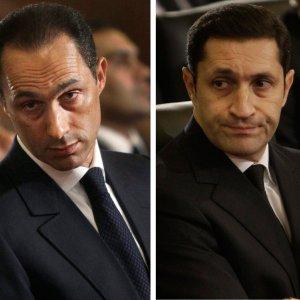 Mubarak's Sons Leave Prison