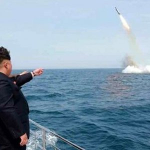 N. Korea Tests Submarine-Launched Missile