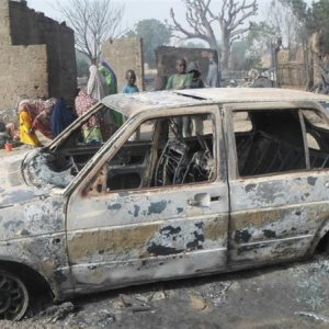 Children Burnt Alive in Nigeria