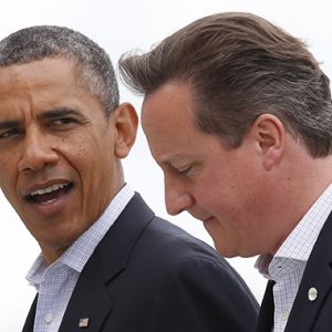 Obama, Cameron to Discuss Russia, Cyber Security