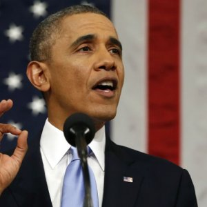 Obama Challenges Republicans in State of Union Speech