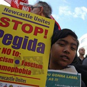 Anti-PEGIDA Protests in Newcastle