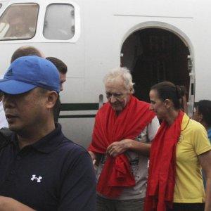 Germans Hostages Freed