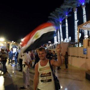Russian Tourists Leaving Egypt