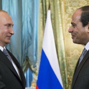 Putin, Sisi Agree on Close Security Cooperation