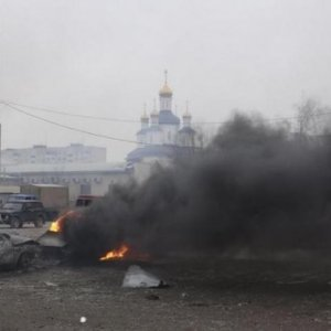 Rockets Kill 15 in Mariupol