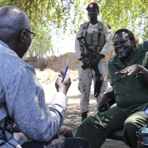 S. Sudan Leaders Sign Power-Sharing Deal
