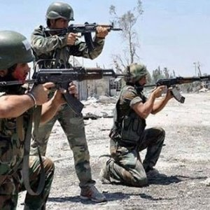 Syrian Army Advances  in South