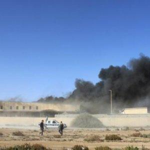 Fresh Air Strikes Near Tripoli