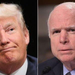 Trump's Tirade Against McCain Sparks Anger