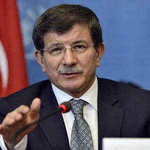 Turkey's Davutoglu Equates Netanyahu to Paris Attackers
