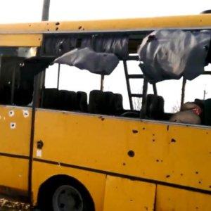 Ukraine Bus Attack Kills 12