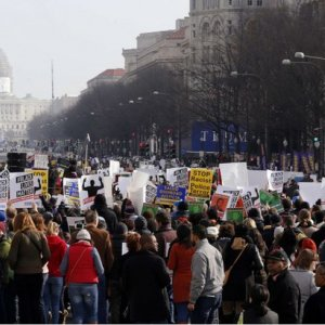 1000s Protest Police Brutality  in Washington
