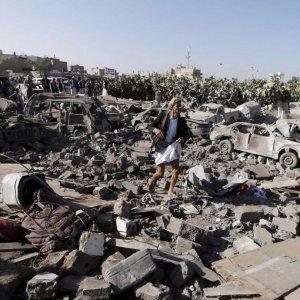 Saudi-Led Warplanes Bomb Yemen Hours Before Ceasefire