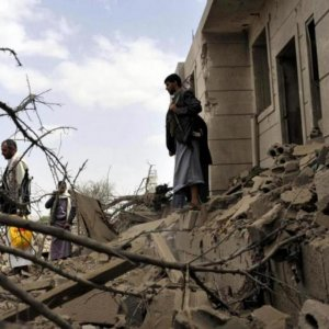 Coalition Air Strike, Clashes Kill 27 in Yemen
