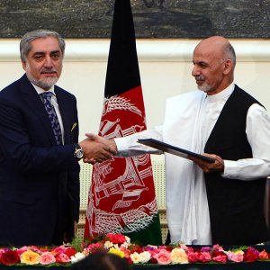 Abdullah, Ahmadzai Sign Unity Deal