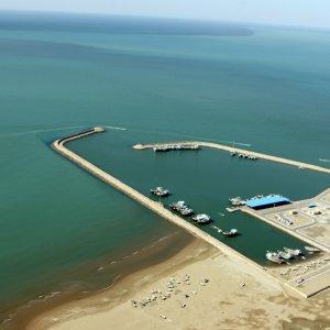 Omani Passenger Ship Docks at Chabahar