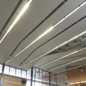 Aluminum Dropped Ceiling Offers Opportunities