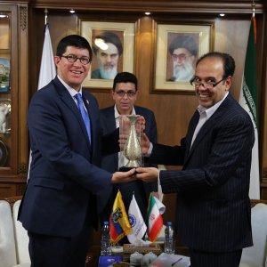 Ecuadorian Minister at ICCIMA