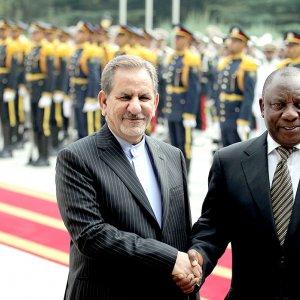 Pretoria Secures Foothold  Pending Sanctions Removal