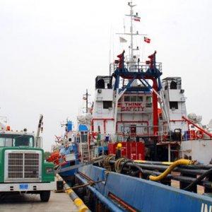 Kish Port's 5-Month Throughput  at 1m Tons