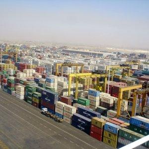 Shahid Rajaei Port Throughput
