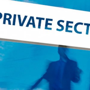 Private Sector Share Meager