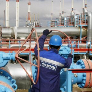 Gazprom Gas Output at All-Time Low