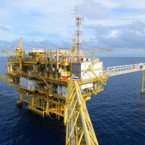 First Offshore SP Processing  Platform Installed