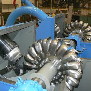 1st Domestic Hydropower  Turbine Manufactured