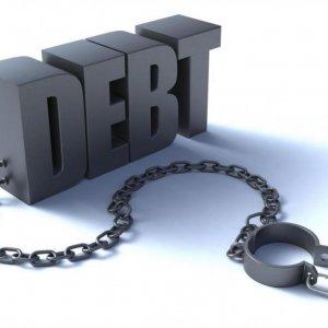 Gov't Debt Drops