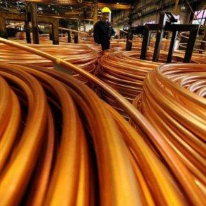 Copper Production Down
