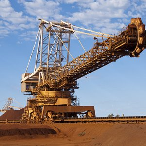 Iron Ore Production at 25.7m Tons
