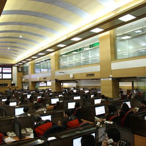 Bustling Trading Day at IME