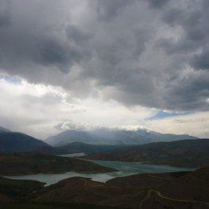 Autumn Rain Feeds Lake Urumia Islands