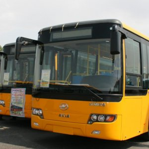 CNG Buses Tested